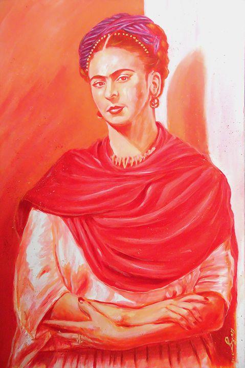 Frida Kahlo by: Anthony Valenzuela - BlueLybra Studios, Inc.