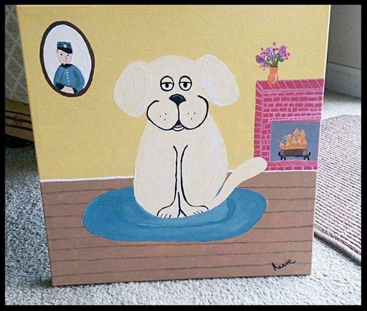 Doug the Dog - Art by Annie