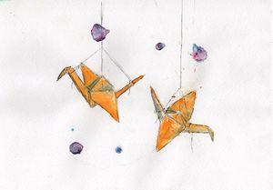 Origami birds - Madveed