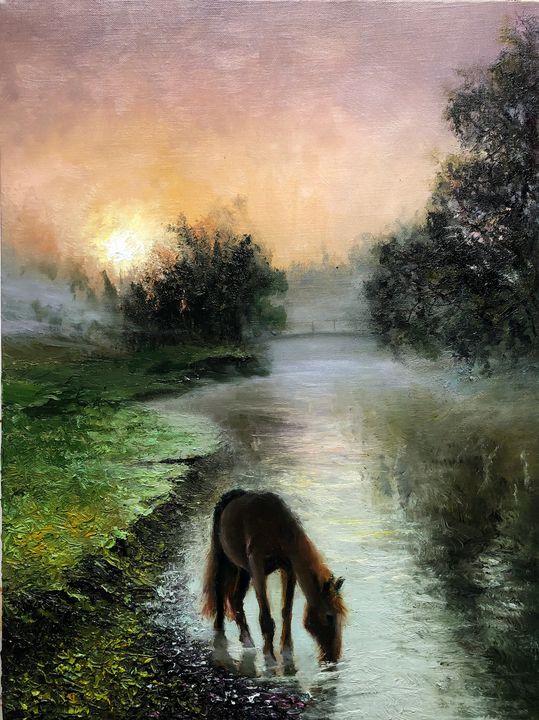 Foggy serenity - Deana Evstefeeva