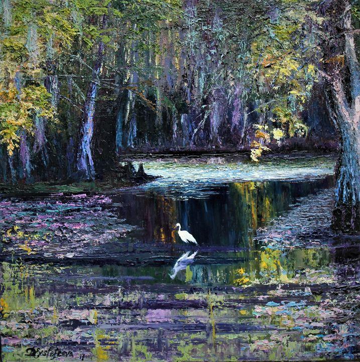 purple swamp - Deana Evstefeeva