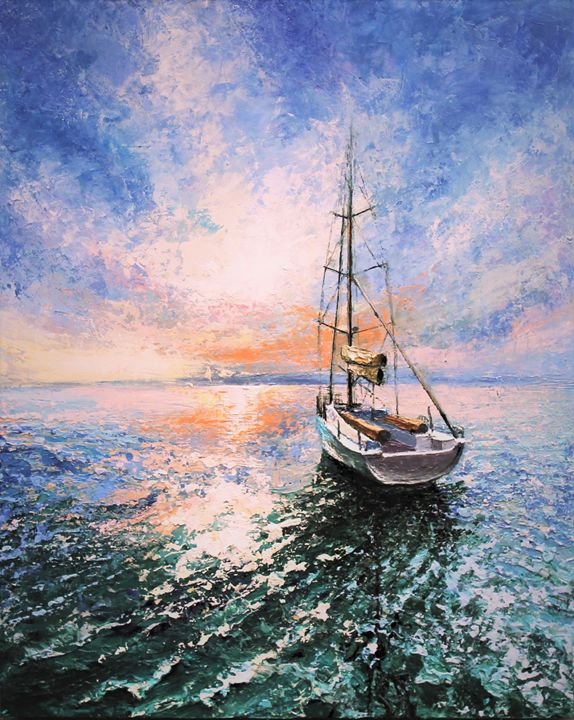 Sailing with the rays of light - Deana Evstefeeva