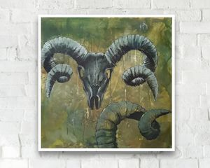 The ram skull