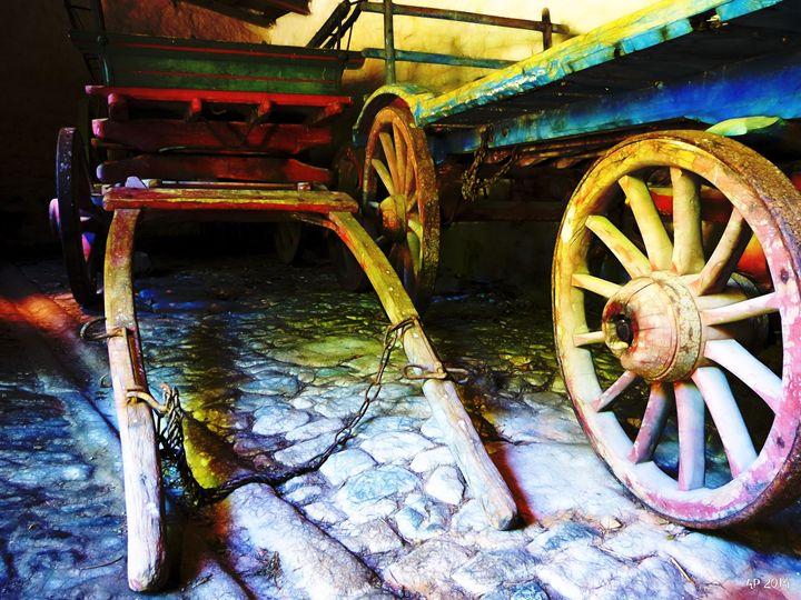 2 carts dark - Alan Pitts