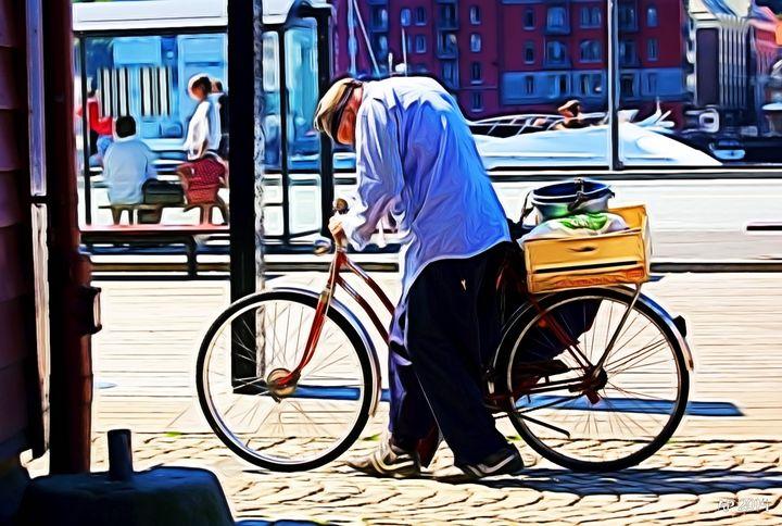 Manwithbike - Alan Pitts