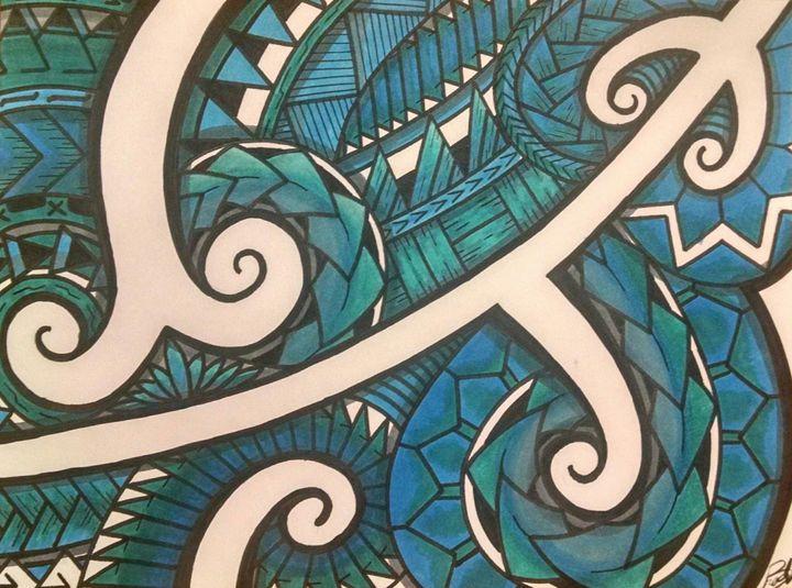 Polynesian Blues - Big Bro's Custom Designs