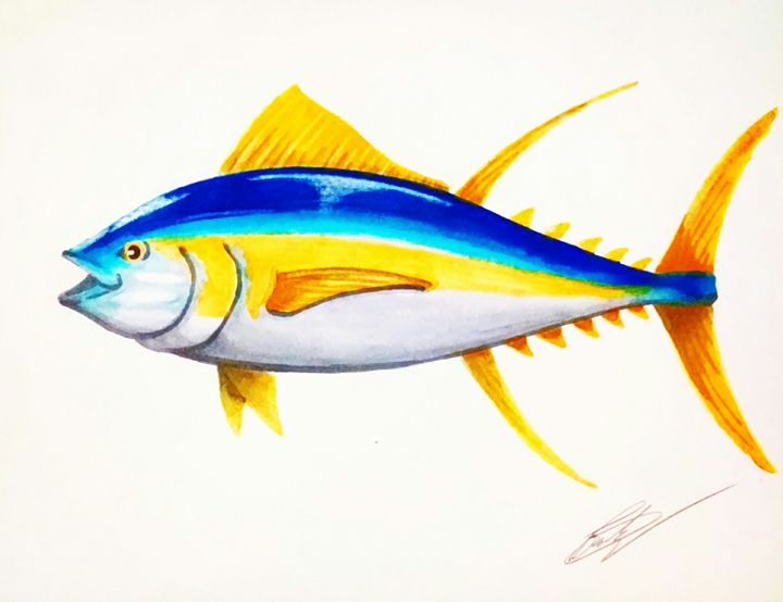 Yellow fin - Big Bro's Custom Designs