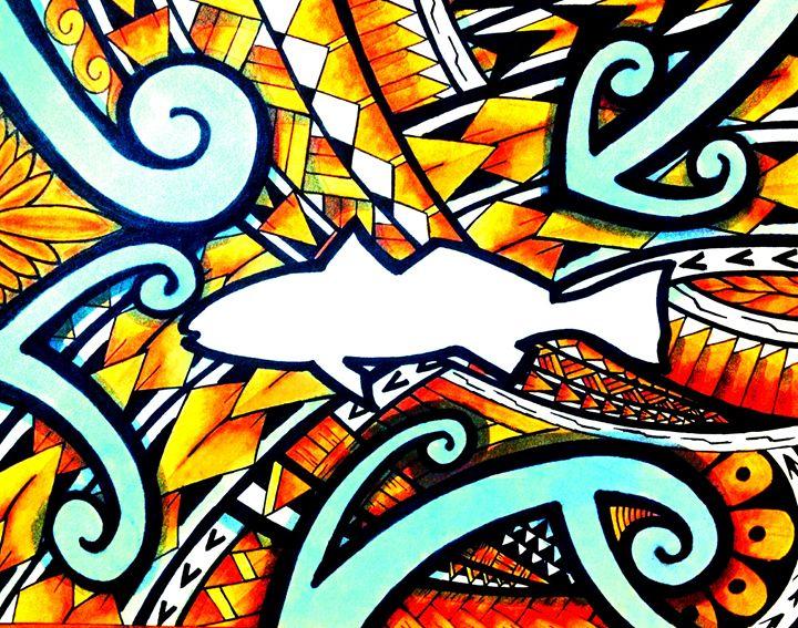 Polynesian Redfish - Big Bro's Custom Designs