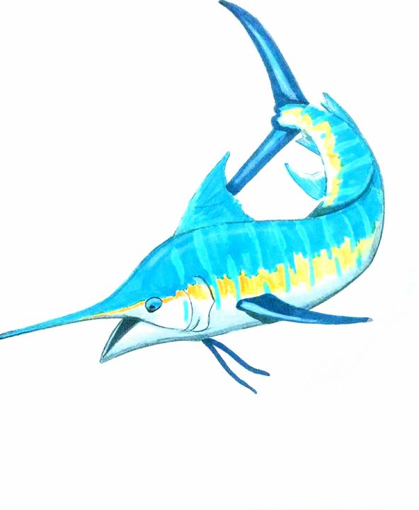 Blue Marlin - Big Bro's Custom Designs