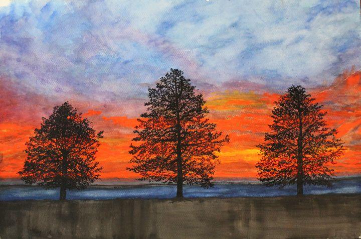 The Three Trees - Fatima's Artwork