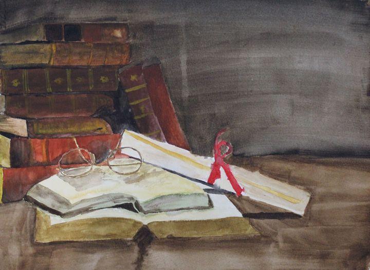 The Great Writer - Fatima's Artwork