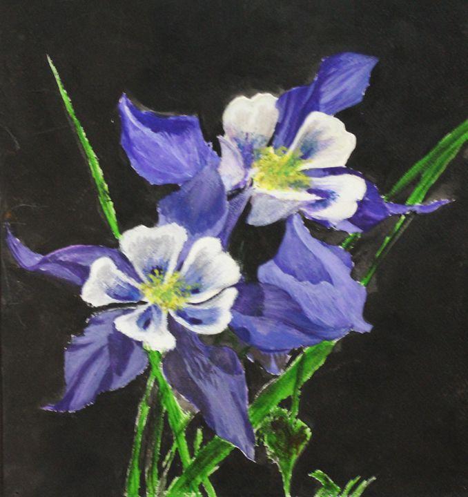 Flowers in bloom - Fatima's Artwork