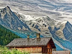 Mont Blanc depuis Argentiere 001