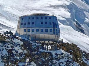 Refuge du Gouter Mont Blanc 014