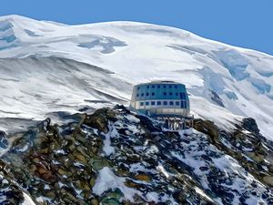 Refuge du Gouter Mont blanc 2020 013