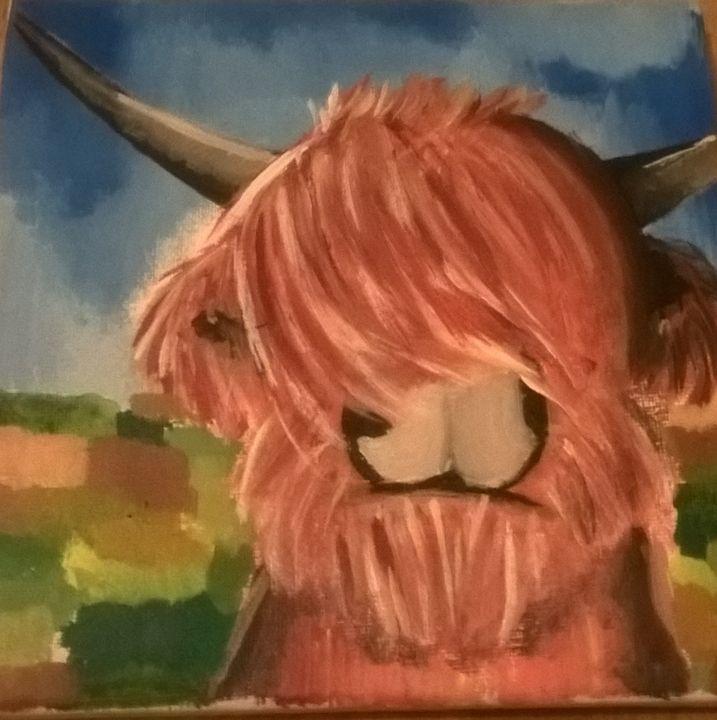 Highland Cow - little_eskimo_in_the_sun