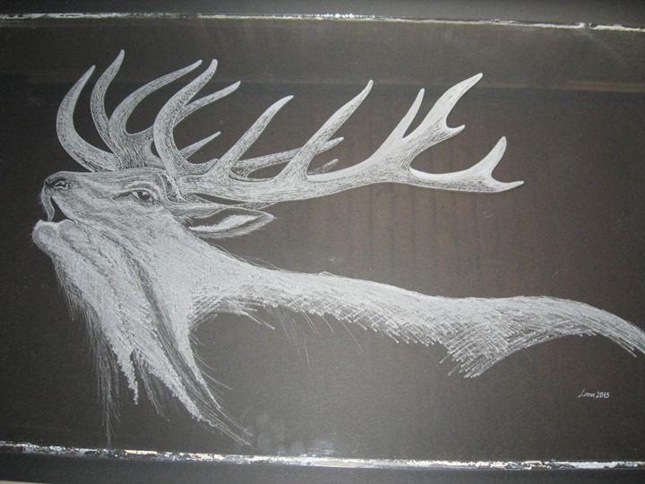 The old bull deer - PIKZIGMARt