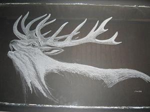 The old bull deer