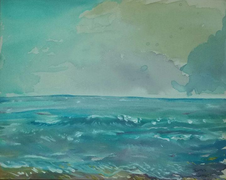 Beach, Recife, Brazil - James McCormack Artist