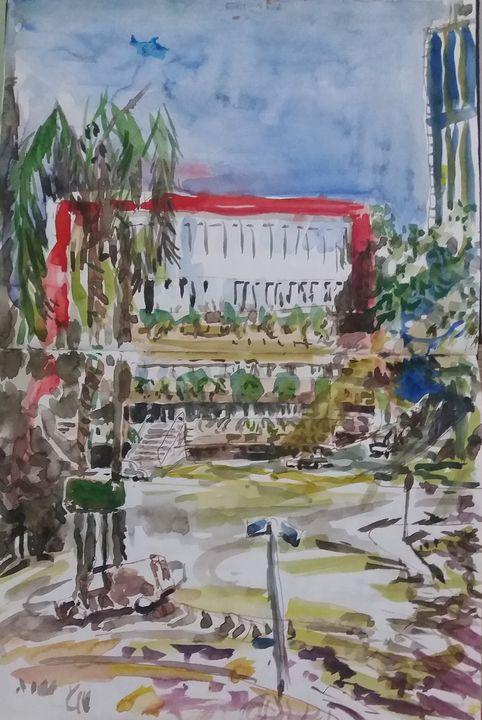 Av. Paulista - Trianon MASP 2 - James McCormack Artist