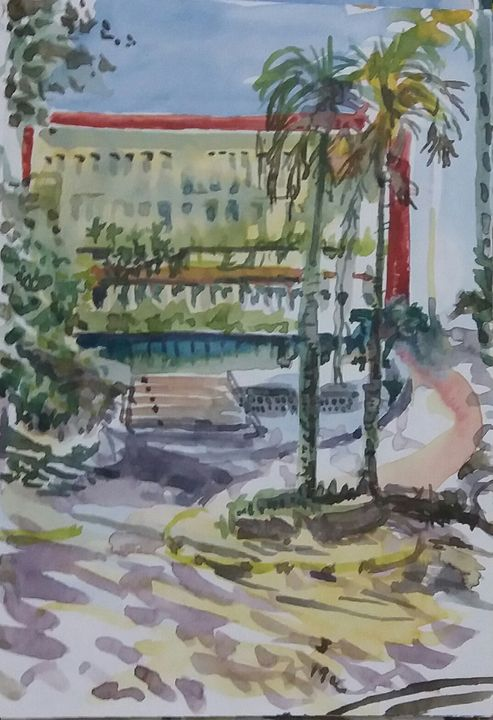 Av. Paulista - Trianon MASP - James McCormack Artist