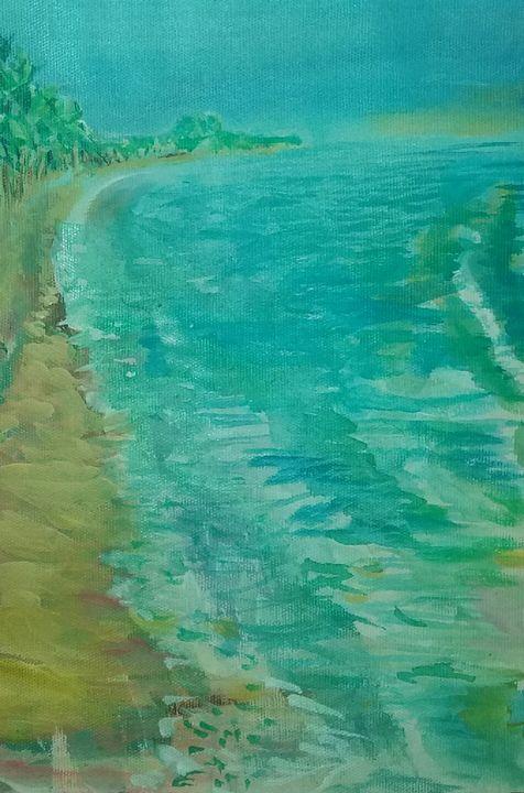 Beach, Fortaleza, Brazil - James McCormack Artist