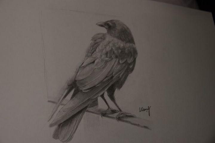 Crow No 2 / Original - WM ART