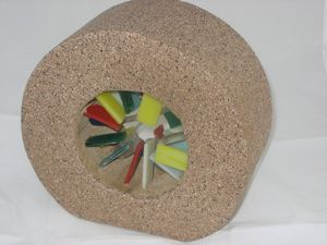 Glass Pinwheel