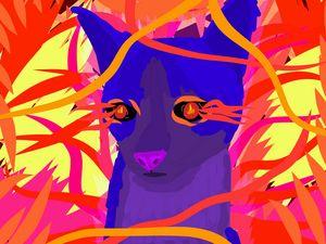 Stylised Cat 2 - Milestone Media