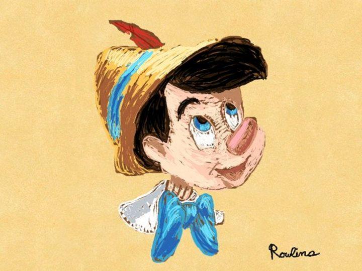 Pinocchio - Disney Art by Ian Rowlins