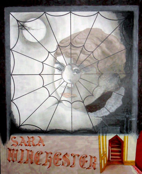 The Spider Window - marcia's art