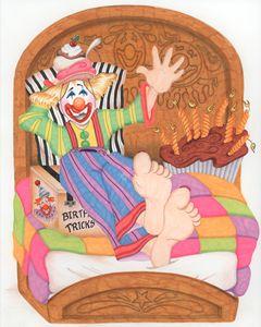 Birthday Clown Nine Year Old