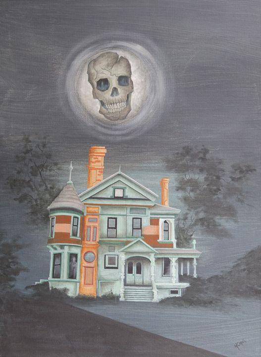 Skull's House of Hauntings - marcia's art