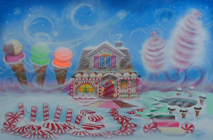 The Cottoncandy Blizzard - marcia's art
