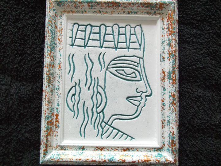 Nubian lady - Egypt Era Ancient