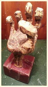 Workers Hand Sculpture