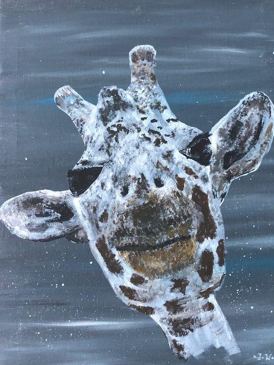 Gerry the smiling giraffe - Joanne Watts
