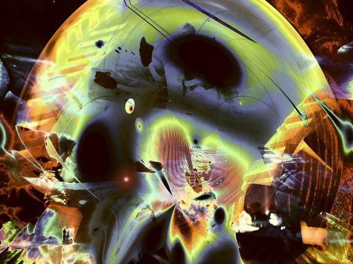 """Retro Moon Rising"" - Andre McKee"