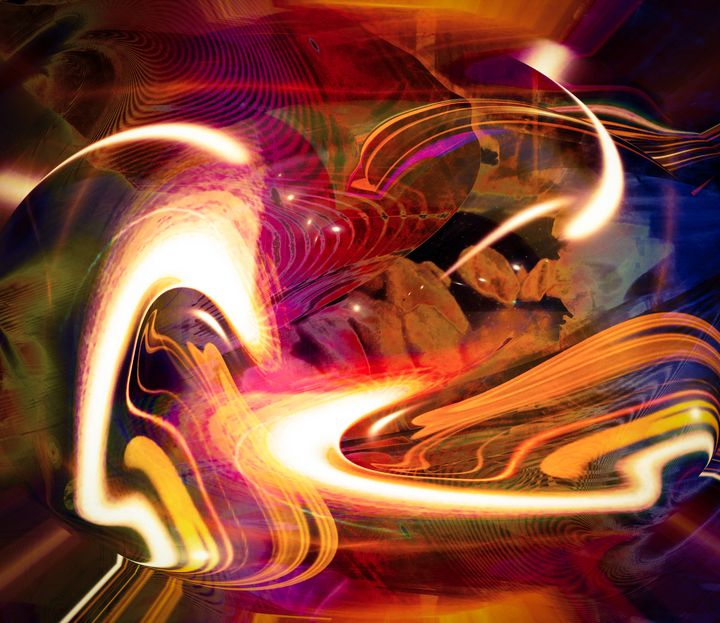 """""""Color Through Space: Series 2"""" - Andre McKee"""