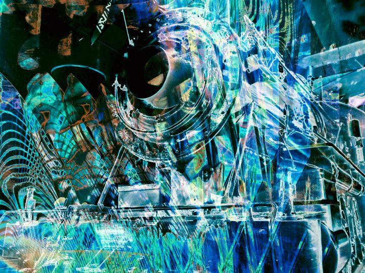 """Locomotive 3"" - Andre McKee"