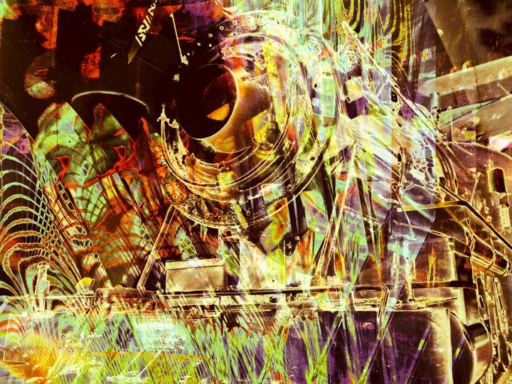 """Locomotive 4"" - Andre McKee"