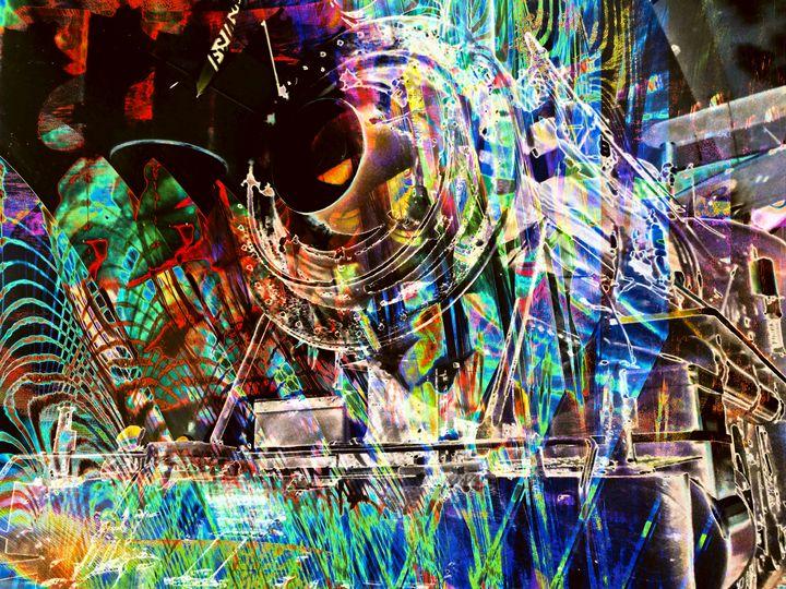 """Locomotive 5"" - Andre McKee"