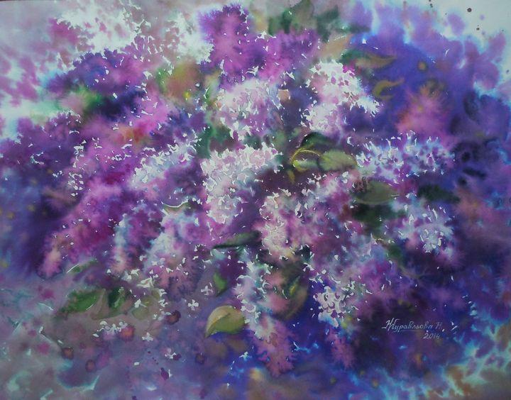 Lilac - Zhuravlova Nataliia & Watercolor