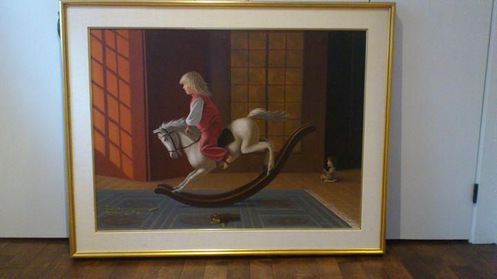 Michael Walker Oil Painting - Michael Walker Painting