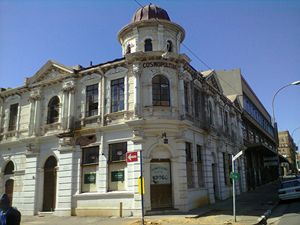 OLD JOBURG BUILDING - Nkosi