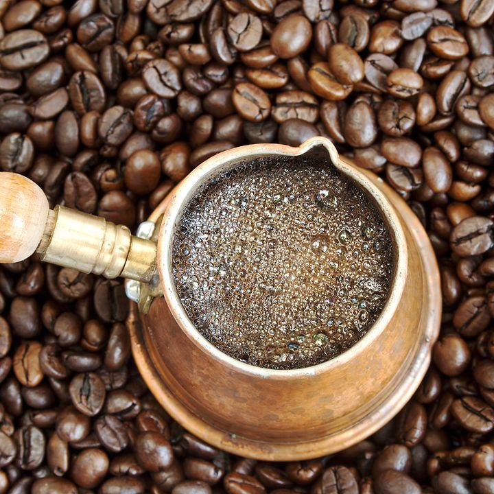 Foaming coffee - Igor