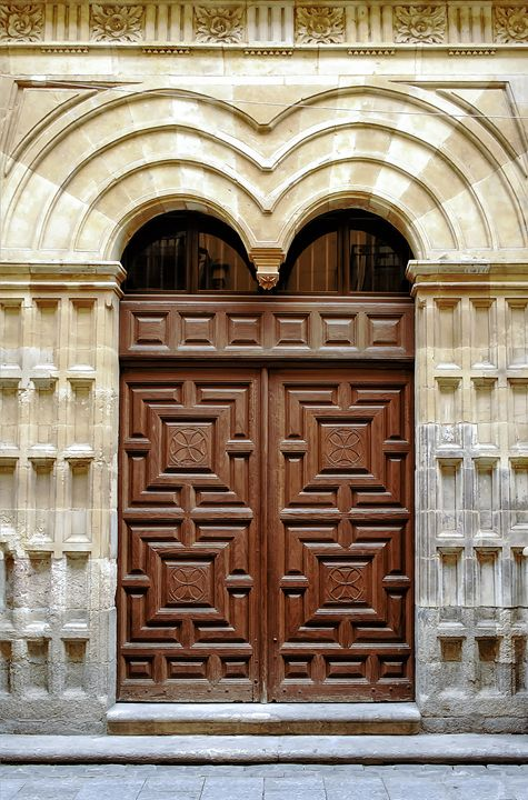 Door of convent - Igor