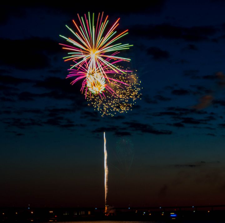 Canada Day Fireworks - Anne Marie Atkins
