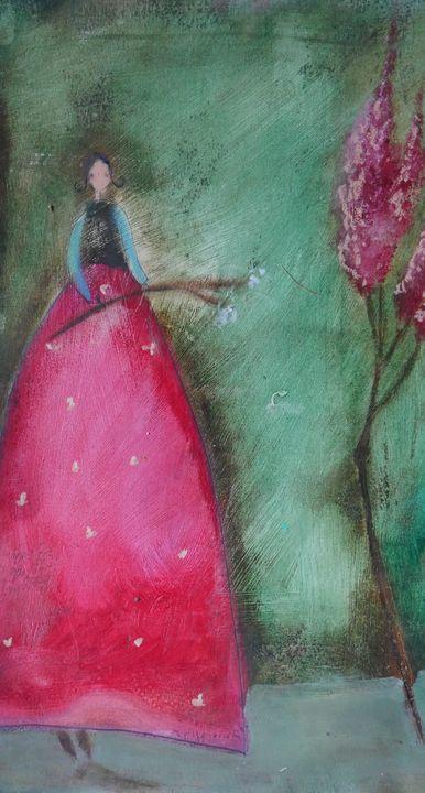 Flower Lady - Nicolle Menegaldo