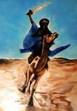 Original Painting Desert Warrior